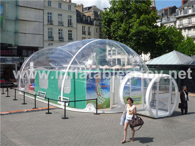 portable meeting room with clear inflatable bubble dome shape TY-014 & portable meeting room with clear inflatable bubble dome shape TY ...
