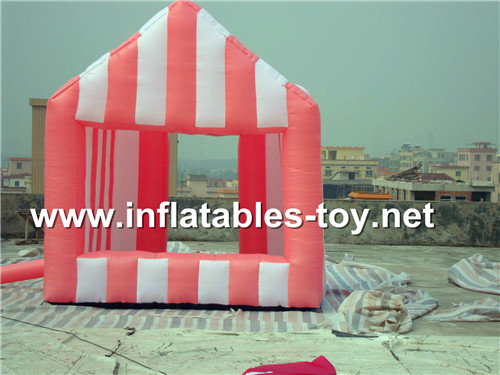 Inflatable candy house for advertising TENT-1018