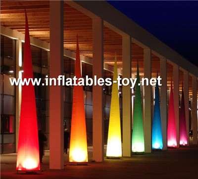 Inflatable Light Tower,inflatable lighting decorations,cone-2