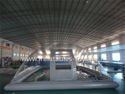 New Design Clear Inflatable Dome Tent For Outdoor Swimming Pool Best Chinese Inflatable Snow