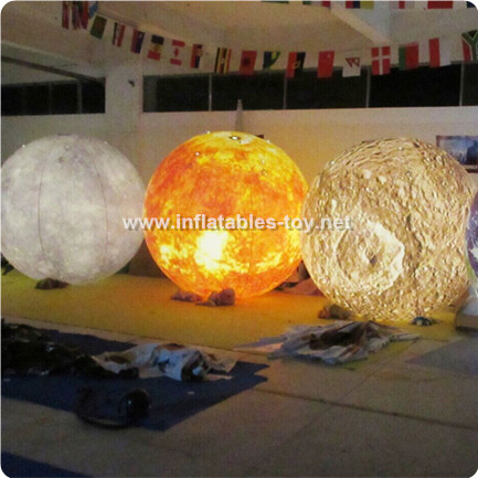 Inflatable Lighting Moon Balloon for Decoration