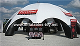 10m Inflatable Dome Tent Spider Tent for Advertising