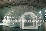 Double Layer Airtight Bubble Tent for Outdoor Camping