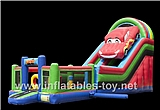 Inflatable Multiplay Car Slide,CLI-1041