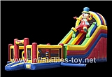 Inflatable Multiplay Clown Slide,CLI-1044