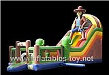 Inflatable Multiplay Cowboy Slide,CLI-1046