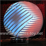 White Inflatable Portable Magic Projection Dome