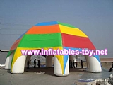 Inflatable spider dome tent advertising spider tent for sale