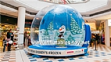 Inflatable Snow Globe Advertising Dome Tent