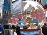 Exhibition Inflatable Snow Globe for Advertising