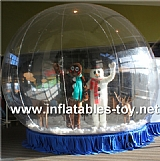 Trade Show Inflatable Snow Globe