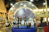 Personal Show Ball Inflatable Snow Globe