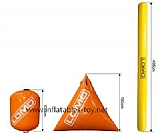 Inflatable Buoys Cylinder Shape for Water Triathlons Advertising