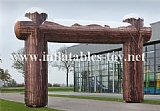 Inflatable Wooden Arch for Event