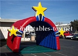 Customized Inflatable Entrance Tunnel Tent