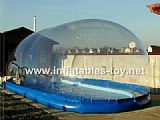 Inflatable Swimming Pool Bubble Dome Tent