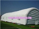 Temporary Inflatable Pod Building House