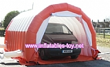 Portable Garage painting workstation inflatable tent