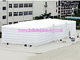 Giant white inflatable building tent for wedding