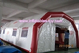 Cheap portable inflatable emergency medical tent