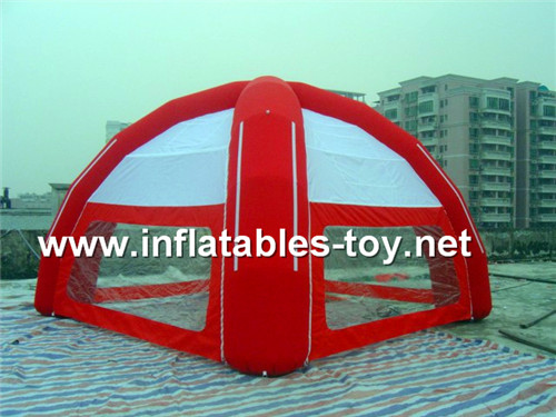 Hoting sales outdoor inflatable advertising spider dome TENT-1021