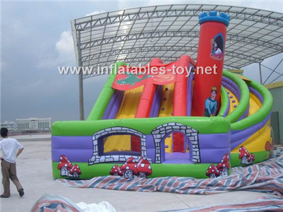 Inflatable gaint slide,CLI-1031