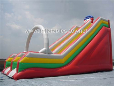 Inflatable dry slide,CLI-1015