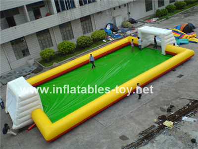 Inflatable football playground,SPO-127