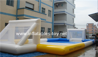 Inflatable Football Pitch for body zorb ball,SPO-125