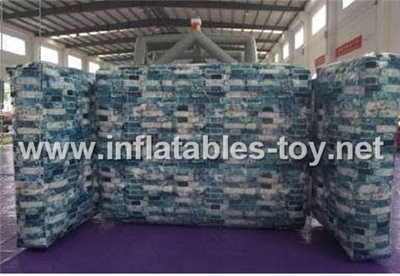inflatable paintball bunker games PB-13