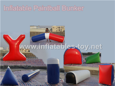 Inflatable paintball bunker PB-05