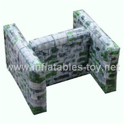 Paintball Air Bunker N Shape walls,inflatable paintball PB-03