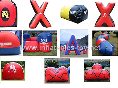 Paintball bunker,Inflatable Paintball Game PB-02