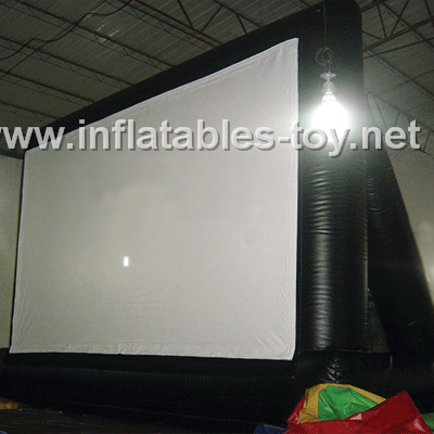 16:9 inflatable movie screen,Movie screen-1001