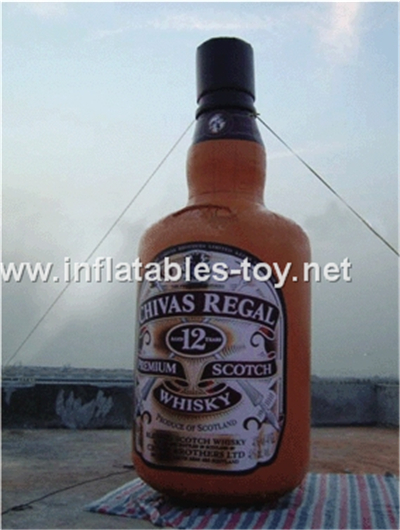 Inflatable whisky bottle,MD-07