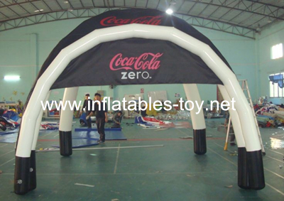 Inflatable Coca-Cola Advertising Tent for trade show Tent-1010