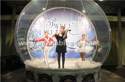Swimming Snow Globes Human Snow Globe For Live
