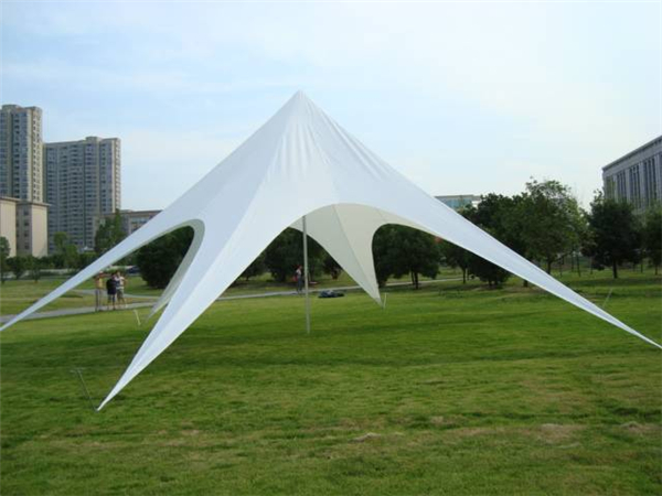 Outdoor Beach Use Star Tent with Digital Printing