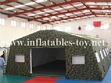 Strong Inflatable Military Tent for Camping