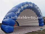 Portable Shell Satge Cover Dome Tent Inflatable Stage Tent