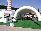 Inflatable Tunnel Tent for Stage Cover