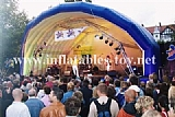 Inflatable Stage Lighting Tunnel Tent