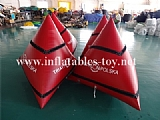 Advertising Inflatable Buoy with Velcro Banner
