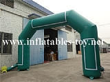 Custom Advertising Inflatable Arch With Stickers