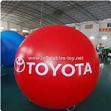 Advertising Helium Balloon with Toyota Printing