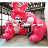 Blow Up Inflatable Bunny Decoration Art Events